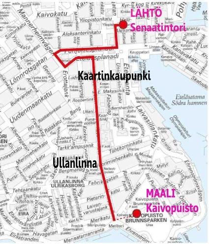 Pride Kulkue Suuntaa Varakkaan Ullanlinnan Lapi Kaivopuiston