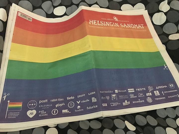 Helsingin Sanomat 29.6.2018