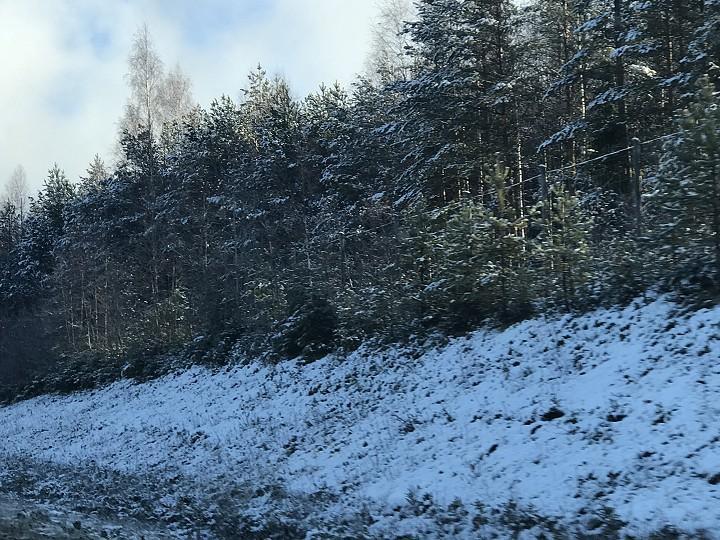 Etelä-Savossa on lunta