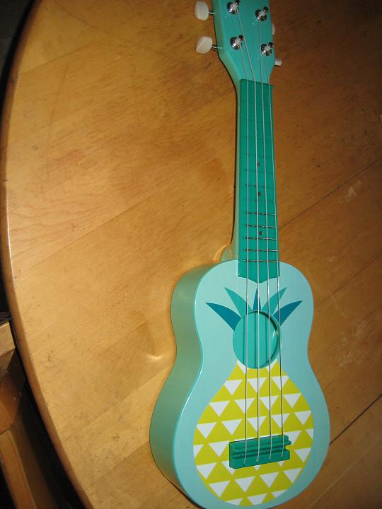 edullinen ukulele