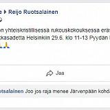 Kultainen sääntö ja Helsinki Pride -tapahtumaan tilauksessa oleva sää