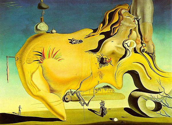 Le Grand Masturbateur fait par M. Dali