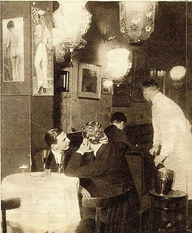 GayCafé Berliinissa 1933