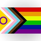 Intersukupuoliset mukaan progressiivisen pride-lipun uuteen versioon