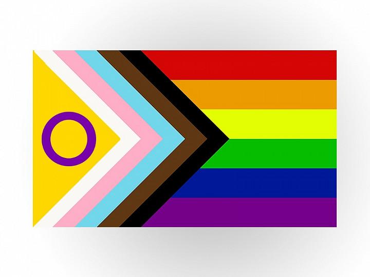 Ns. progressiivisesta pride-lipusta on nyt intersukupuolisetkin huomioiva versio
